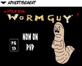 Little Evil Wormguy - Now on DVD
